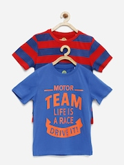 YK Boys Pack of 2 T-shirts