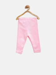 YK Baby Girls Pink Track Pants