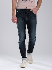 GAS Navy Washed Ramon Anti Fit Jeans