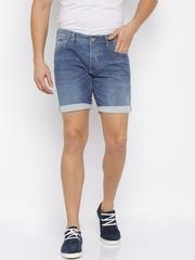 GAS Blue Denim Shorts