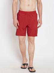 Speedo Red Panelled Surfing Shorts