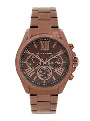 GIORDANO Men Brown Dial Watch 1739-66