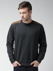 Mast & Harbour Charcoal Grey Sweatshirt