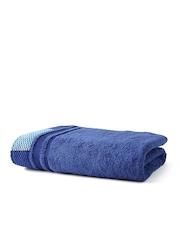 MASPAR Blue Cotton Bath Towel