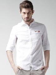 ALCOTT White Casual Shirt