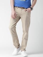 ALCOTT Beige Jimmy Slim Fit Jeans