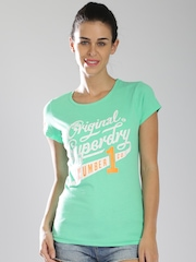 Superdry Green Number 1 Printed T-shirt