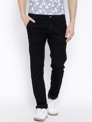 Rodamo Black Slim Fit Jeans