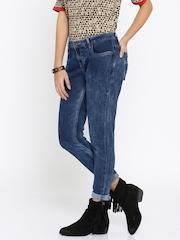 Roadster Women Blue Skinny Fit Mid-Rise Clean Look Jeans