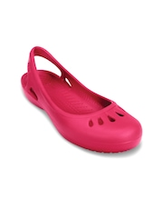 Crocs Women Pink Clogs