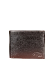 Harp Unisex Brown Wallet