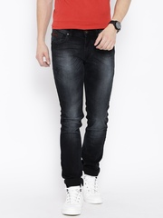 Numero Uno Black Washed Morice Slim Fit Jeans