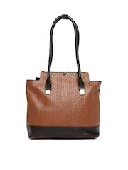 Hidesign Brown Leather Shoulder Bag