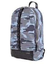 Atorse Unisex Blue Camouflage Print Laptop Backpack