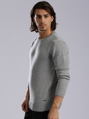HRX by Hrithik Roshan Grey Sweater