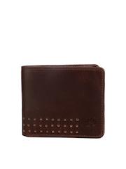 Woodland Men Brown Genuine Leather Wallet