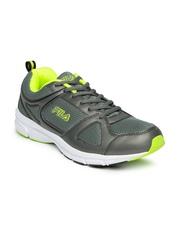 FILA Men Charcoal Grey Aerobic Lite Running Shoes