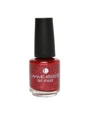 Lakme Absolute Gel Stylist Red Metal Nail Polish