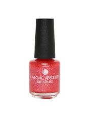 Lakme Absolute Gel Stylist Scarlet Glitz Nail Polish