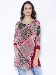 Fusion Beats Multicoloured Printed Tunic