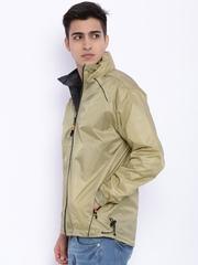 Sports52 wear Beige Printed Rain Jacket