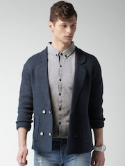 Mast & Harbour Men Navy Cardigan