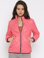 Mast & Harbour Pink Quilted Jacket