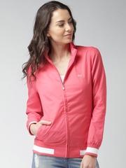 Mast & Harbour Pink Bomber Jacket