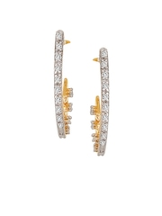 Mia by Tanishq 14KT Gold Precious Earrings with Diamonds
