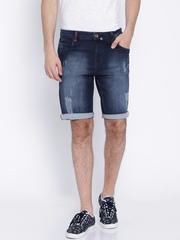 Bandit Blue Washed Vintage Fit Denim Shorts