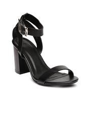 Van Heusen Women Black Heels