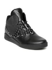 Supra Men Black Estaban Leather Sneakers