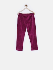 Tickles Girls Purple Track Pants