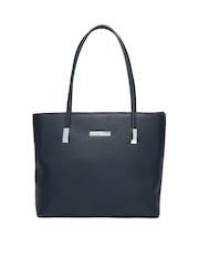 Lino Perros Navy Shoulder Bag