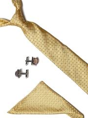 Lino Perros Men Self-Checked Accessory Gift Set