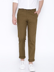 Cotton Colors Brown Chino Trousers