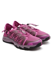 The North Face Women Pink Printed Litewave Outdoor Shoes
