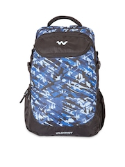 Wildcraft Unisex Black Printed Camo 5 Backpack