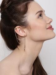 Lyla Loves Set of 2 Gold-Toned Ear Cuffs