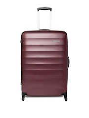 AMERICAN TOURISTER Unisex Burgundy Paralite Medium Trolley Suitcase