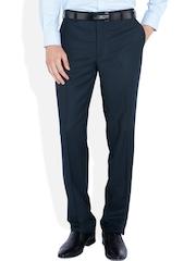 Park Avenue Blue Formal Trousers