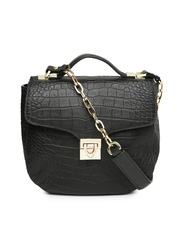 Hidesign Black Leather Handbag