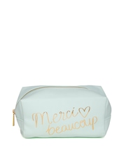 FOREVER 21 Women Mint Green Printed Pouch