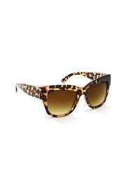 FOREVER 21 Women Printed Cat-Eye Sunglasses 16831901