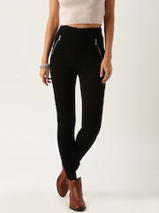 All About You By Deepika Padukone Black Casual Trousers