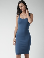 FOREVER 21 Blue Bodycon Dress