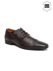 Arrow Men Brown Genuine Leather Brogues