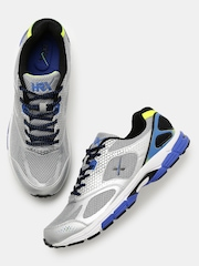 HRX by Hrithik Roshan Men Grey & Silver-Toned Running Shoes