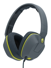 Skullcandy Grey Crusher Headphones with Mic