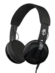 Skullcandy Black Grind 2.0 Famed Headphones